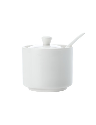 White Basics Bistro Sugar Bowl Gift Boxed