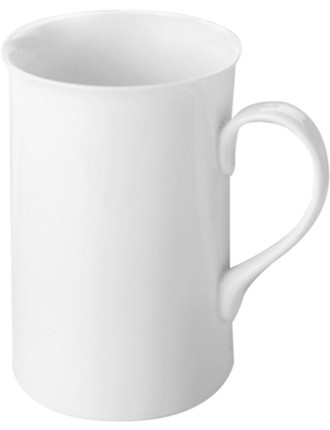 White Basics English Mug