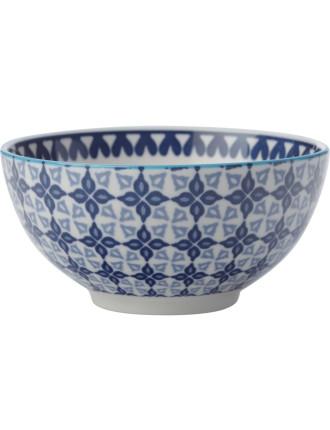 Mazara Bowl Blue Mosaic 12.5cm