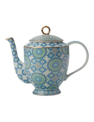 Teas & C's Isfara Teapot Bukhara Blue