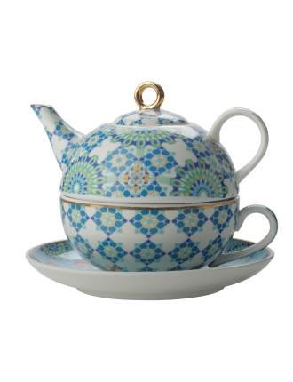 Teas & C's Isfara Tea For 1 Bukhara Blue