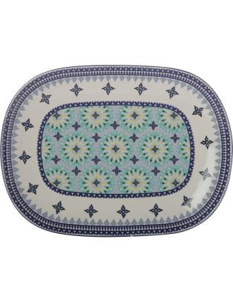 Mazara Oblong Platter 40x28cm