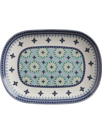 Mazara Oblong Platter 45x33cm
