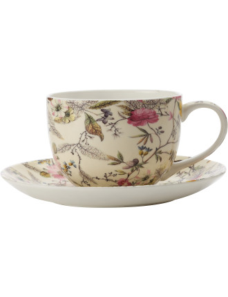William Kilburn Coupe Cup & Saucer