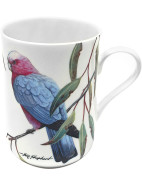 Birds Of Australia Pink And Grey Galas Mug $9.95
