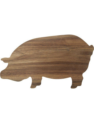 S&P Butcher  Pig Shaped Board