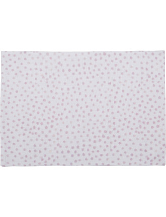 Sea Drift Spot Placemat 33cm Pink
