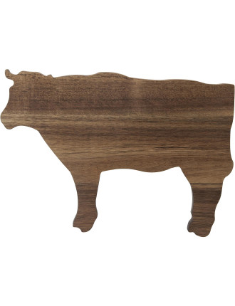 S&P Butcher Cow Shaped Board