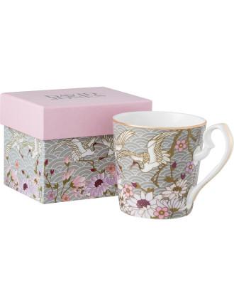 Oriental Floral Mug