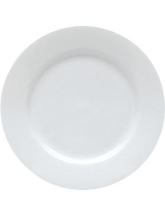 White Basics Rim Side Plate