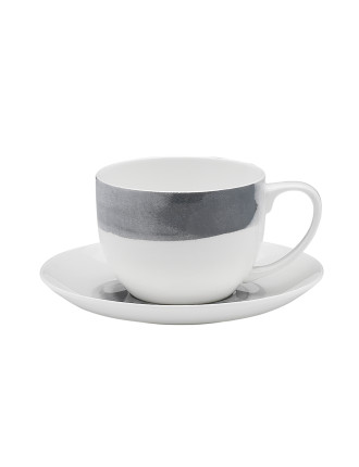 Watercolour Tea Cup \u0026 Saucer  sc 1 st  David Jones & Save 30% when you spend $50 or more^ on Ecology dinnerware ...