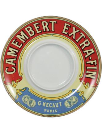 Classic Camembert Keeper/Baker Platter In Gift Box