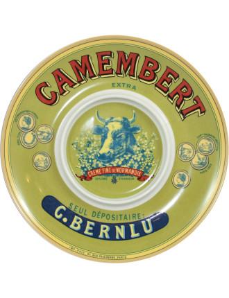 Cows Head Camembert Keeper/Baker Platter In Gift Box