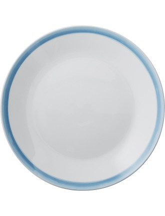 Watercolour Blue Dinner Plate