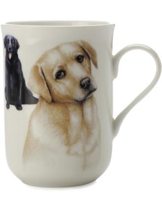 Cashmere Dog Mug  Labrador Gb