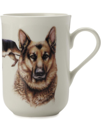 Cashmere Dog Mug German Shepherd Gb