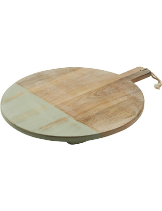Coast Mango Wood Round Board 45cm