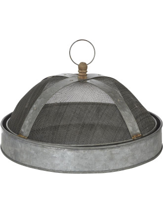2pce Dome With Tray