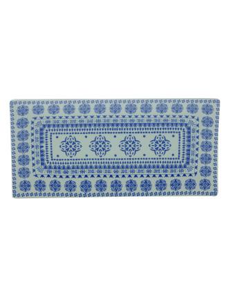 Blue Antico Rectangular Platter 43x20.5cm Gift Boxed