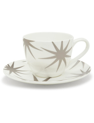 Decadent Star Tea Cup & Saucer 250ml