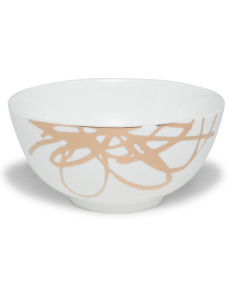 Decadent Ribbon Rice Bowl 14.5cm