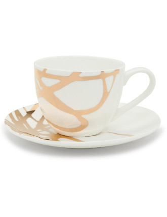 Decadent Ribbon Tea Cup & Saucer 250ml