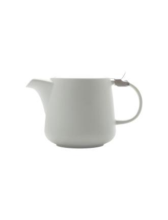 Tint Teapot White 600ml