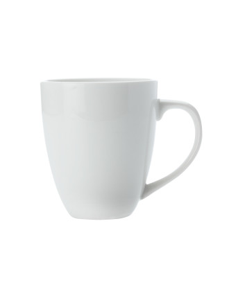 White Basics Large Coupe Mug