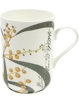 Botanic Floral Mug Wattle