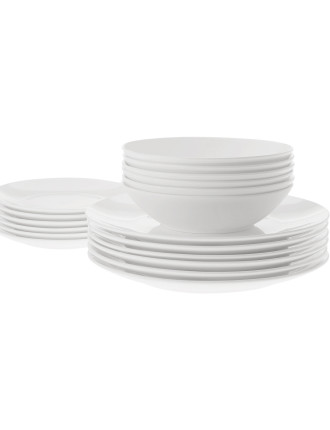 Cashmere Bone China Coupe 18-Piece Dinner Set