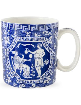Blue Italian Blue Room Mug Greek