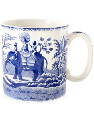 Blue Italian Blue Room Mug Indian Sporting