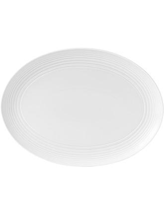 Maze Oval Platter 43cm