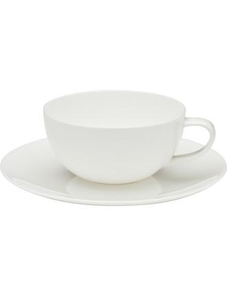Coupe Tea Cup & Saucer
