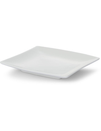 White Basics East Meets West Square Plate 13cm
