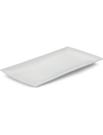 White Basics East Meets West Rectangular Platter 36x18cm