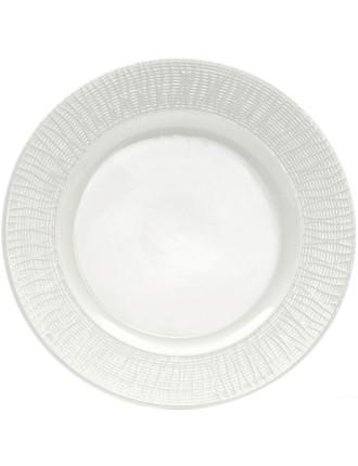 Linen Rim Side Plate 20cm