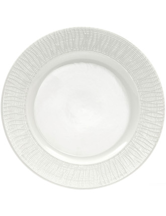 Linen Rim Dinner Plate 27.5cm