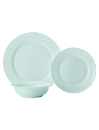 Cashmere Cosmos Rim 12-Piece Dinner Set
