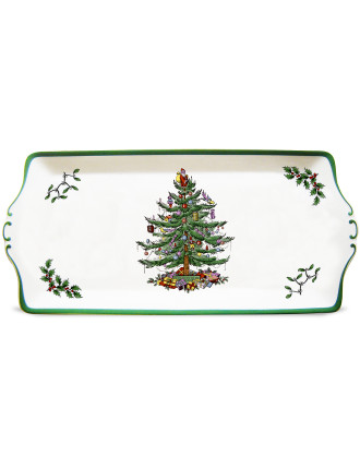 Christmas Tree Sandwich Tray 34x15cm/13.25x6'