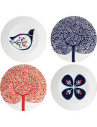 Fable Accent Plates Set of 4 $49.95