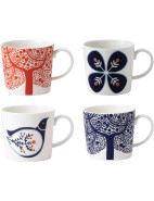 Fable Accent Mugs Set of 4 $49.95