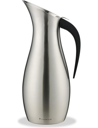 Penguin Water Pitcher 1.7 Litre - Brushed Stainless Steel