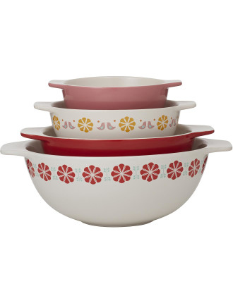 Peggy Mixing Bowls Set of 4