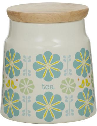 Peggy Tea Canister Blue