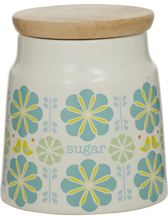 Peggy Sugar Canister Blue