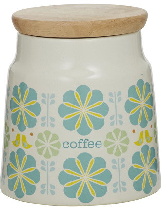 Peggy Coffee Canister Blue