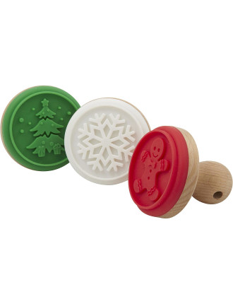 Christmas Cookie Stamp Set of 3