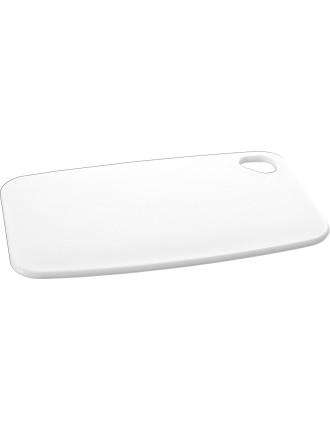SPECTRUM Cutting Board 345 X 230 X 8mm - White