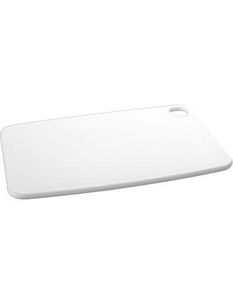 SPECTRUM Cutting Board 390 X 260 X 10mm - White